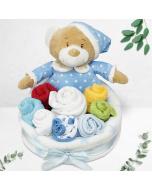 Blue Bear Bouquet