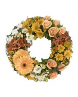 Pastel Clustered Wreath