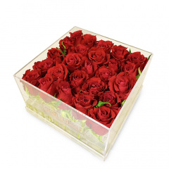 Large Roses Cube
