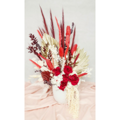 Eternal Preserved Red Valentine's Arrangement