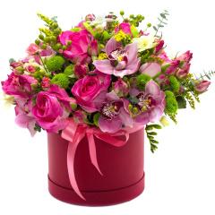 Pink Luxury Hat Box