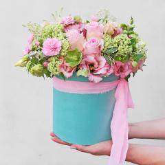 Petal Pink Hat Box